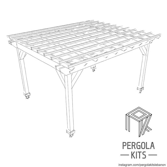 New Concept in the Making ⇨Pergola with Wheels⇦Stay Tuned for the Outcome...