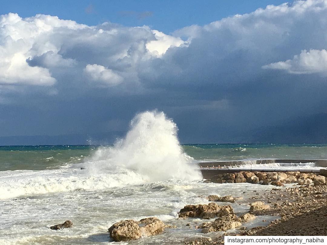 Manara sea ocean walk sports beirut cloud rays sun photography ...