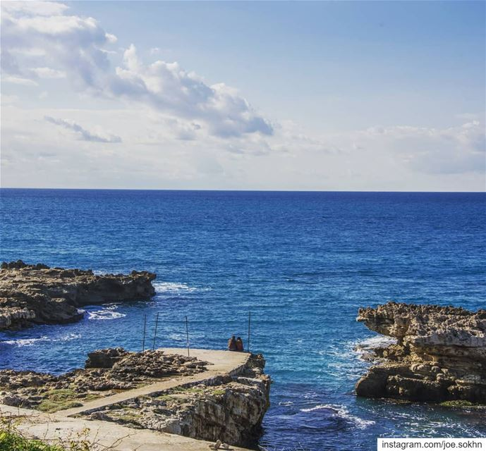 Deep Blue and 💙 in kfaraabida......... lebanon lebanontimes ...