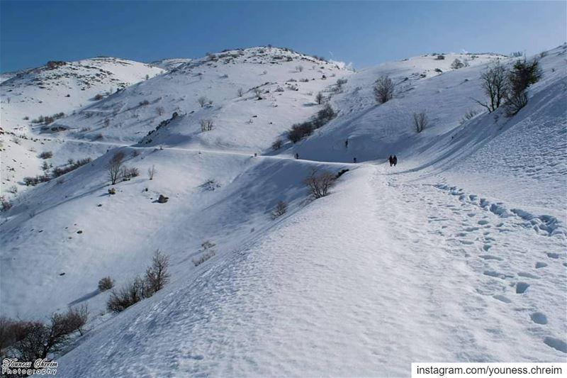 صباح الخير ❄🌞 snow winter hiking sun mount mountain lebanon ...