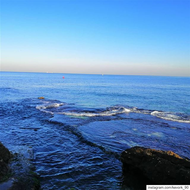 The cure for anything is salt water: sweat, tears or the sea... ... (Beirut, Lebanon)