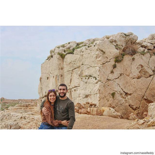 Phoenician castle! livelovelebanon liveloveanfeh lebanonadventure ... (Anfeh - Koura sea)