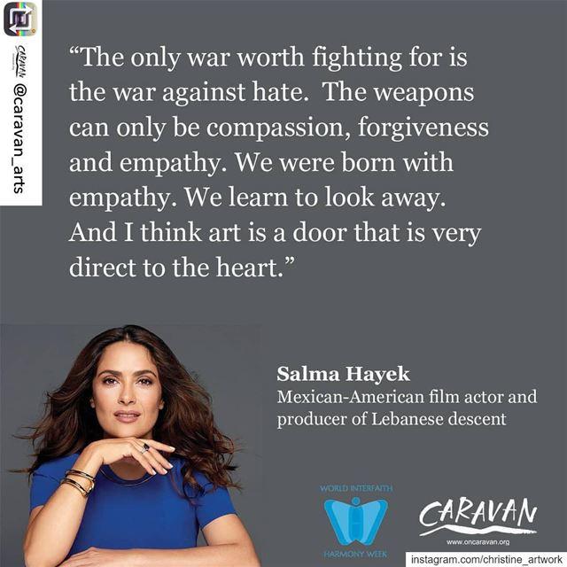 Repost from @caravan_arts using @RepostRegramApp - Powerful words from @sal