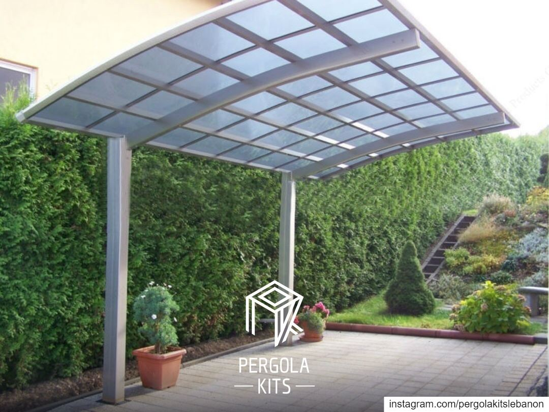 """Protect your Car & Design your Outdoor at Once with """"Carport"""" from Pergola..."""