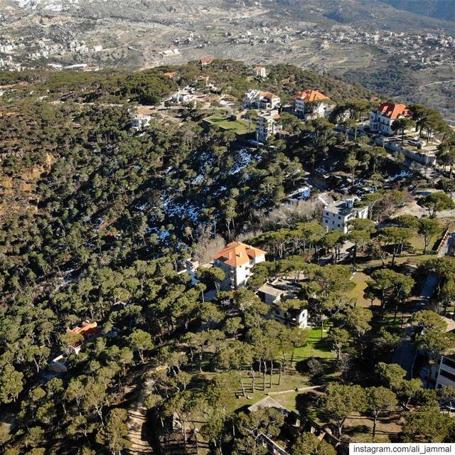 lebanon beirut picoftheday byme DJI mavicair djimavicair landscape... (Chouer, Mont-Liban, Lebanon)