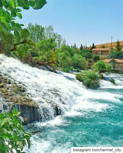 Amazing view by @imantaha77 hermel hermel_city bekaa lebanon_pictures ... (Assi River)