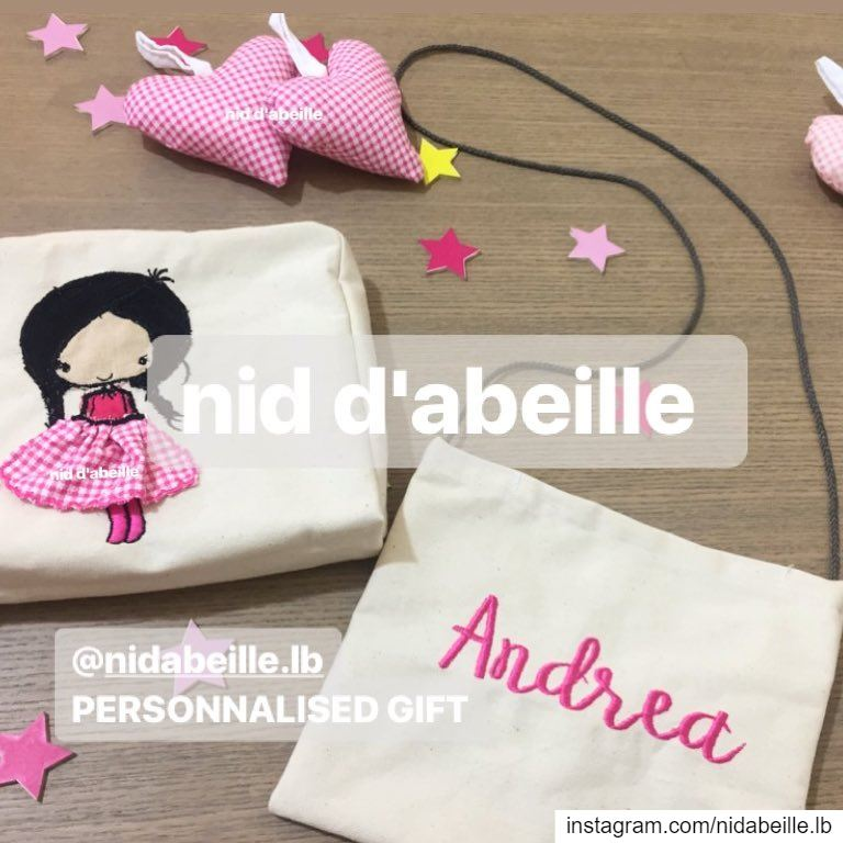 Love my stuff 💖 Write it on fabric by nid d'abeille home kids linen ...