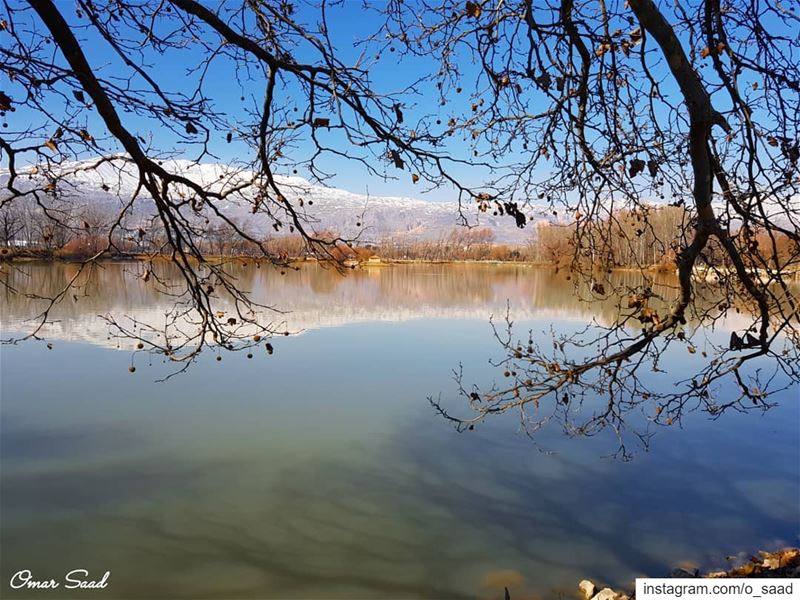 Love it  beautiful  view  from  lebanon  taanayel  lake  photooftheday ...