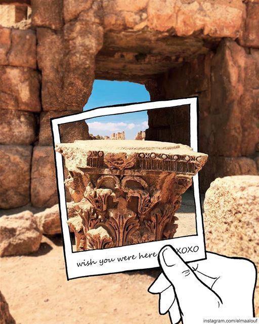 - Postcard from Baalback -..... livelovebaalbeck baalbeck ... (Baalbek, Lebanon)