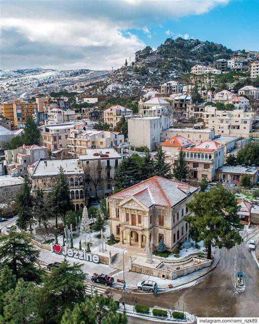 My Hometown ❤️... jezzine lebanon dji drones quadcopter aerial ... (Jezzîne, Al Janub, Lebanon)