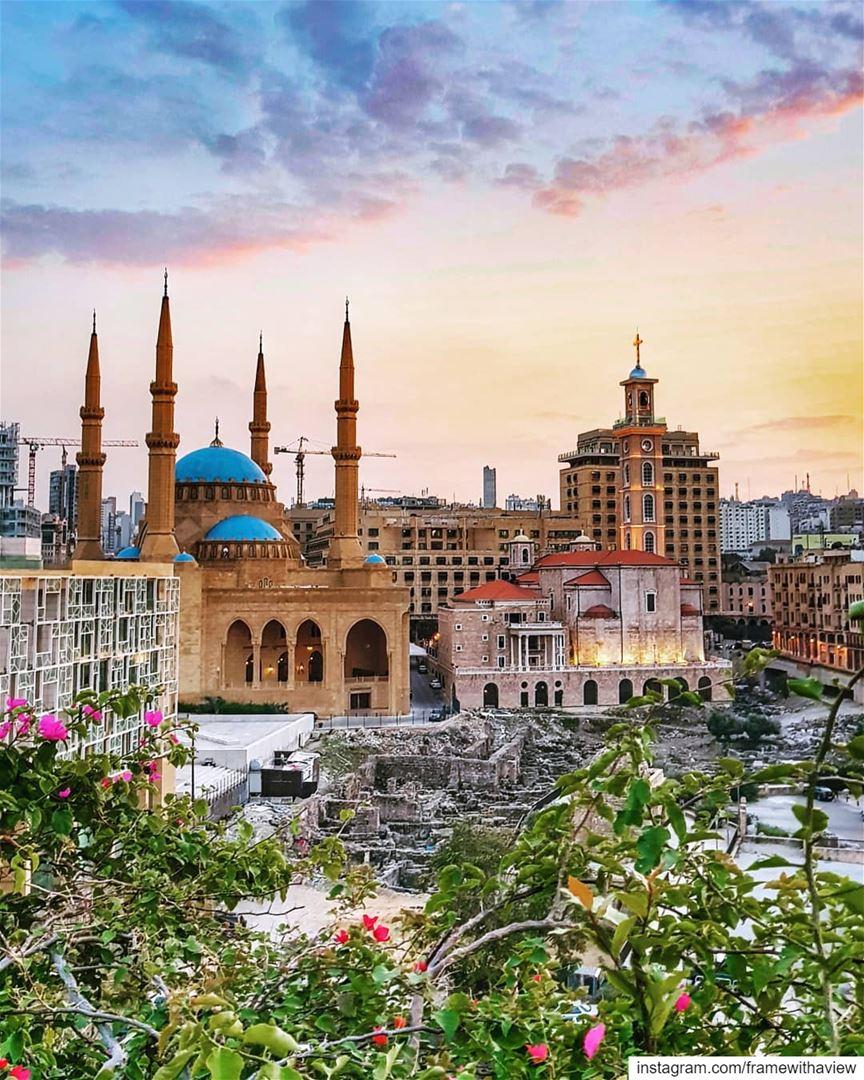 Beirut, for better or for worse, for richer or poorer... 💘..... ... (Beirut, Lebanon)