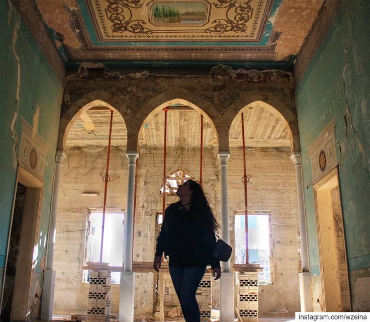 Hidden Beauty 💙.... lebanon   hiddengems   art  abandonedart ...