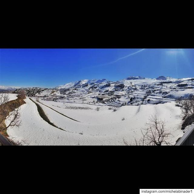 lebanon winter panoramic panoramicoftheday photography photographer ... (Lasa, Mont-Liban, Lebanon)