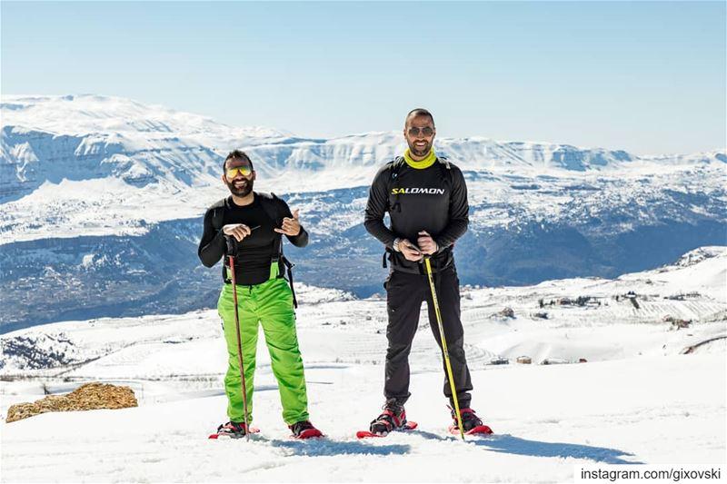 White Lebanon 🇱🇧.... neverstopexploring snowshoeing hiking ...