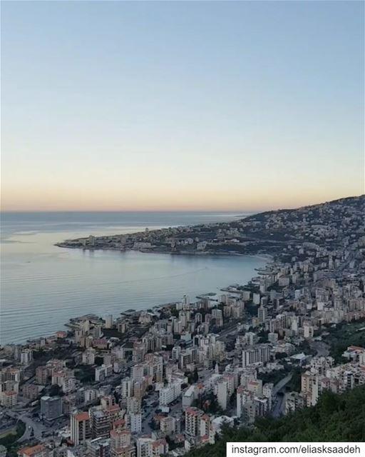 MyHeaven ⛰.. jounie JouniehBay harissa sea mediterrenean ... (Jabal Harîssa)