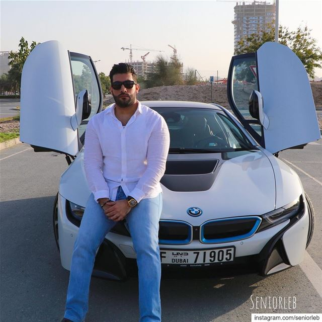 Good evening enjoy your day 😎———————————————————————  bmwi8  i8 ... (Dubai, United Arab Emirates)