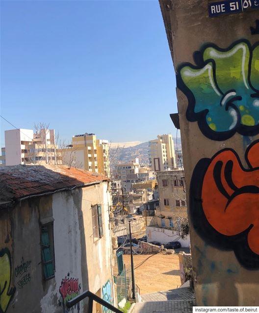 Do you like wall art? Seedy/gentrified neighborhoods? Café hopping? Beirut... (Geitawi Hospital)