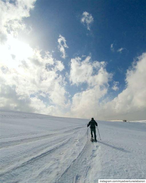 Don't overthink, just keep moving! myadventureslebanon mountaineering ... (Lebanon)