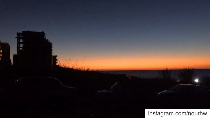 Notice things🌅🇱🇧•••• walkview skyfall beirut sunset city ... (Beirut, Lebanon)
