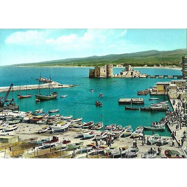 How about this beautiful view of Saida Port from 1963