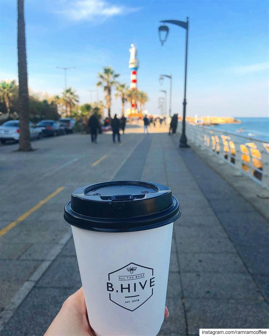 وعلى صباح حبك انا اصبحت.... ramramcoffee turkishcoffee ... (المنارة - بيروت)
