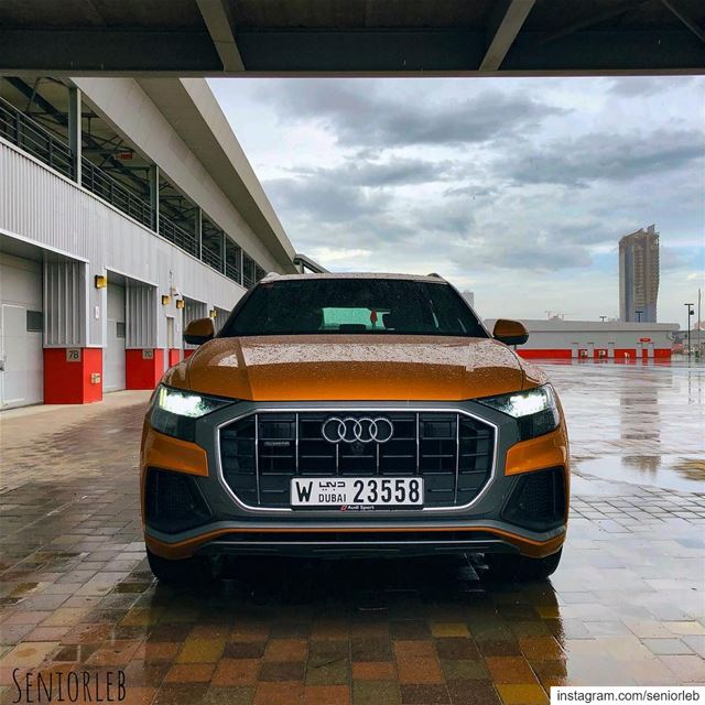 Audi's first Sports and super luxurious SUV the new Q8 🔥 ————————————————— (Dubai, United Arab Emirates)