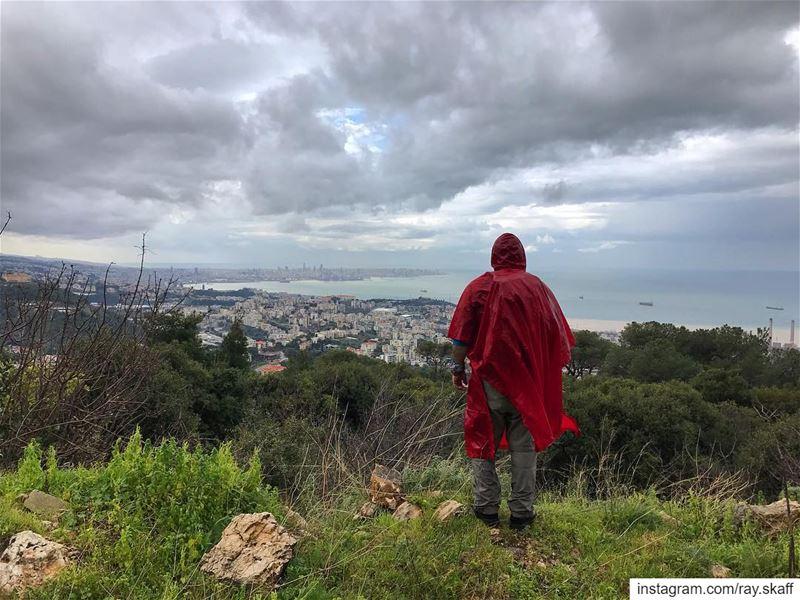 Overlooking Beirut ‼️ .... ............... lebanon ... (Overlook Mountain)