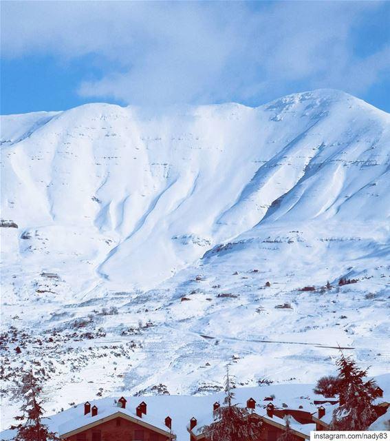 🏔️.. skitouring lebanon snow ski instagood webstapick ...
