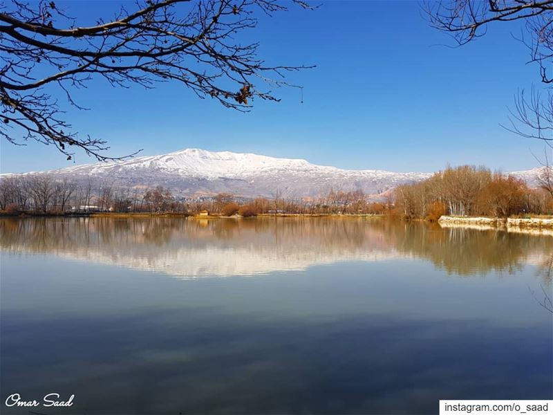 Just Beautiful taanayel bekaa lebanon landscapephotography lake ...