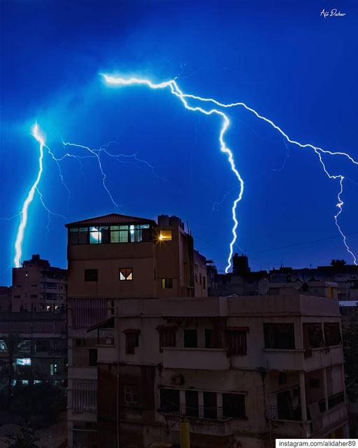 🌩..... landscape landscapephotography photographer... (Beirut, Lebanon)