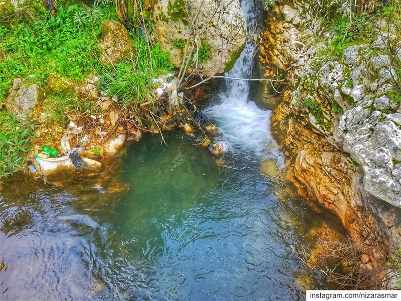 😄🇱🇧 A small river in berkayel ❤🏞📷 Lebanon | Berkayel | Akkar |  in...