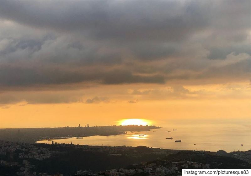 How long is forever?sometimes just one second... happeningnow sunset... (Beirut, Lebanon)