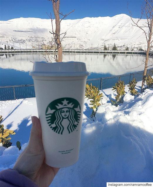 سماع صوتك في الصباح مثل فنجان قهوة كفيل بأن يسعدني اليوم كله.... . ☕️☕️ (Zaarour Lake)