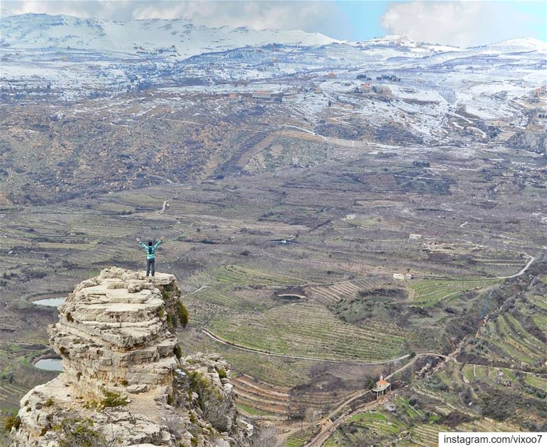Never bend your head. Always Hold it high. Look the world straight in the... (Akoura, Mont-Liban, Lebanon)