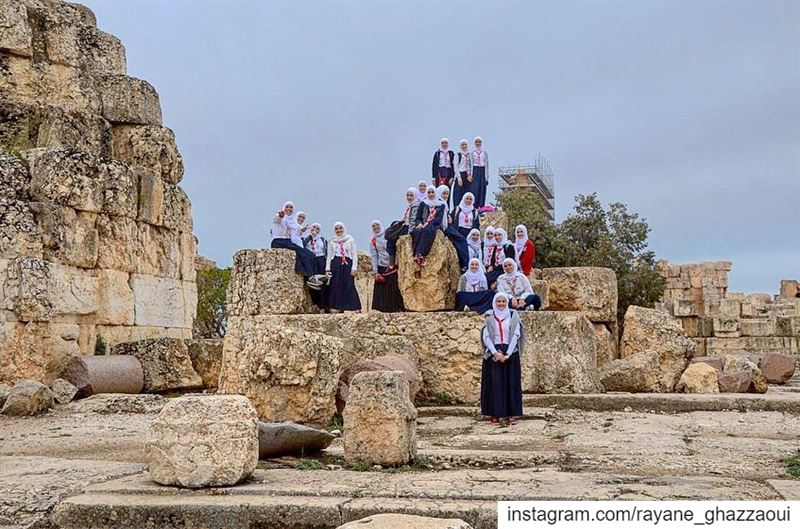.. Creating History with Tomorrow's Leaders Insha'Allah 😍⚜️. .  scout ... (Baalbek, Lebanon)