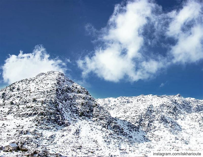 'mountains are the begining and the end of all natural scenery...' (El Laklouk, Mont-Liban, Lebanon)