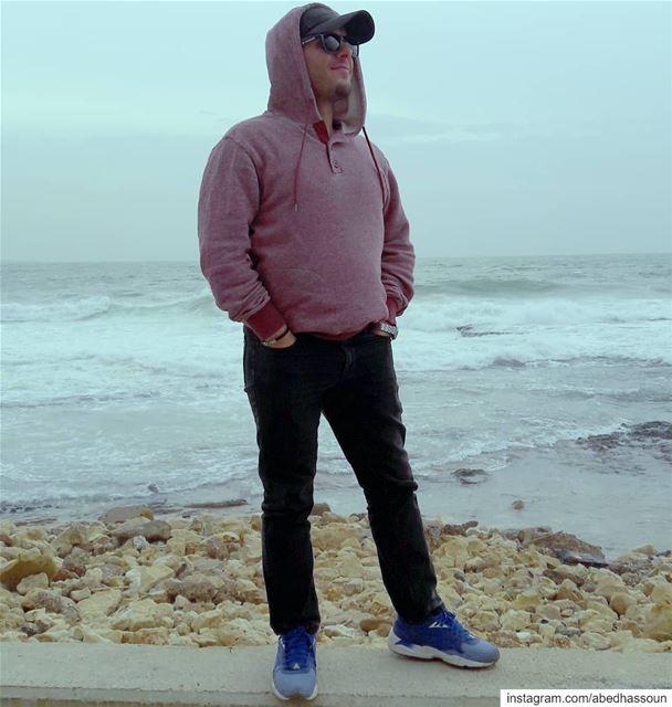 The 🌊 & me.............. tripoli بحر sea artofvisuals ... (Tripoli, Lebanon)