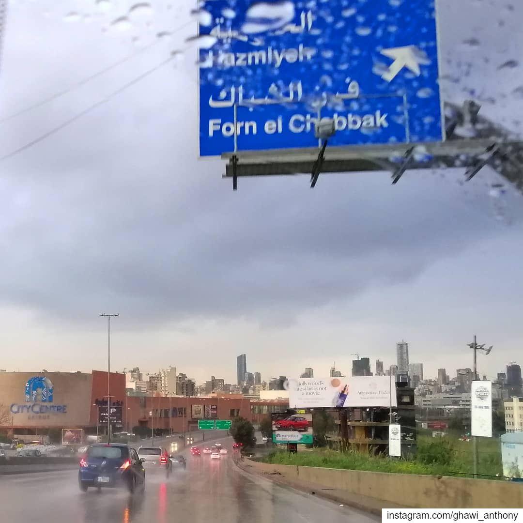 On the rain way☔Morning🙋🏻♂️_______________________________ saturday ... (Hazmie, Mont-Liban, Lebanon)