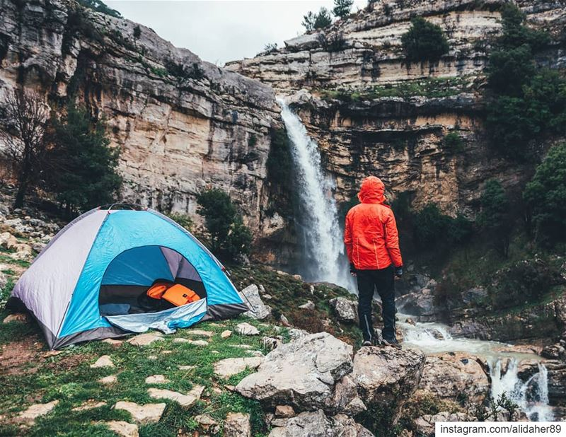MAKE TIME for the great outdoors ⛺🏞.... waterfall lake river... (Jezzine Region)