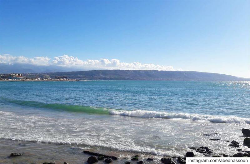 🌊................ tripoli بحر tripolilb sea ... (Tripoli, Lebanon)