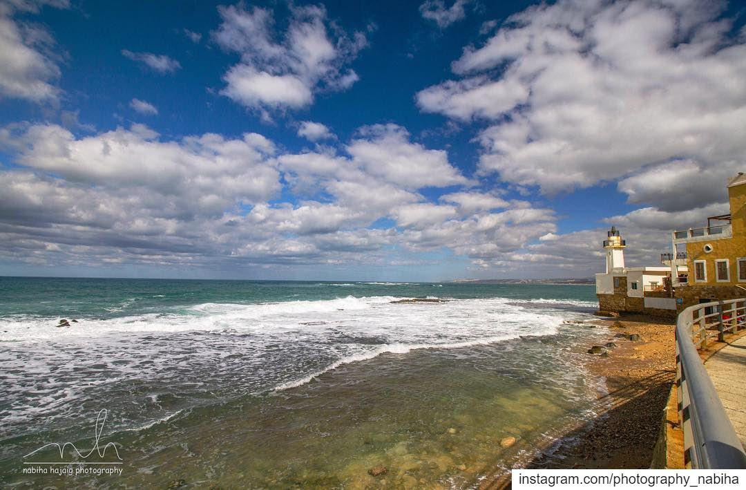 Sour sea ocean seascape sports beirut cloud sour tyre ... (Tyre-Sour At Beach)