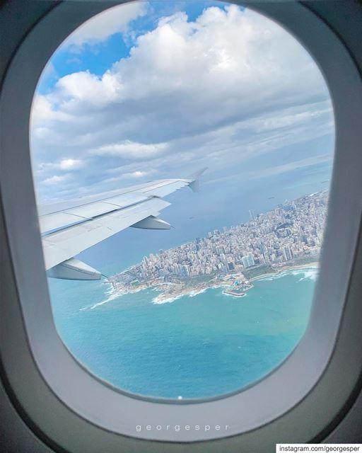 Ras Beirut from the sky • Lebanon 🇱🇧..... beautifullebanon ... (Beirut, Lebanon)