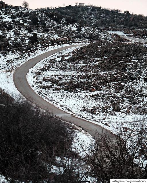 Snowy... (Lebanon)
