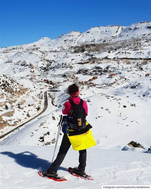 Enjoy every minute 💫 myadventureslebanon mountaineering ... (El Laklouk, Mont-Liban, Lebanon)