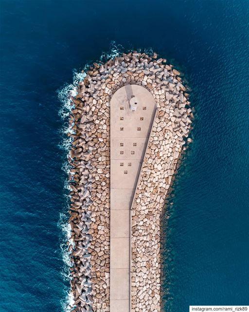 Docking 🚢... dji drones quadcopter aerial aerialphotography ... (Saïda, Al Janub, Lebanon)