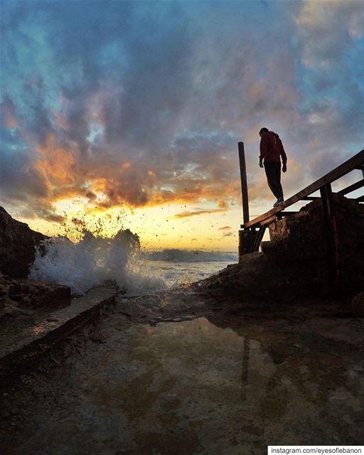 Congratulations @marcusarkis Well deserved 👏👏 lebanon batroun sunset... (Batroûn)