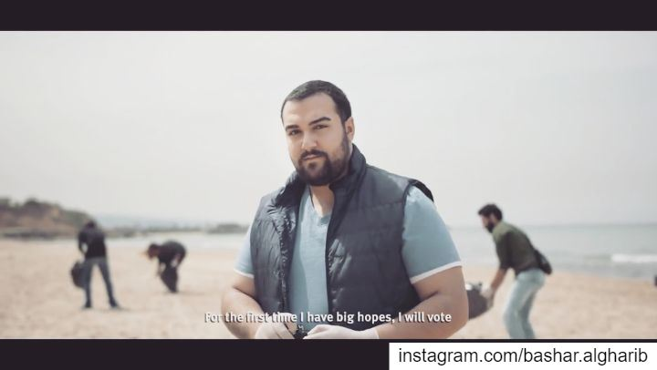 Throwback to the UNDP elections commercial !... lebanon  beirut  dubai... (Lebanon)