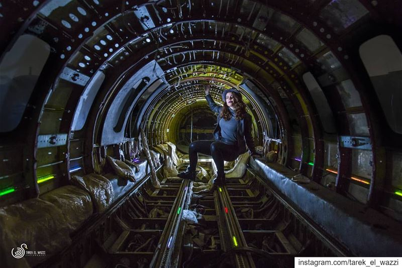 This was taken inside a small abandoned cargo plane in Lebanon.Thank you...