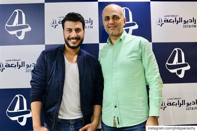 النجم مراد حلمي نورتنا.... alrabiafm interview dubai lebanon syria... (Al Rabea 107.8 FM)