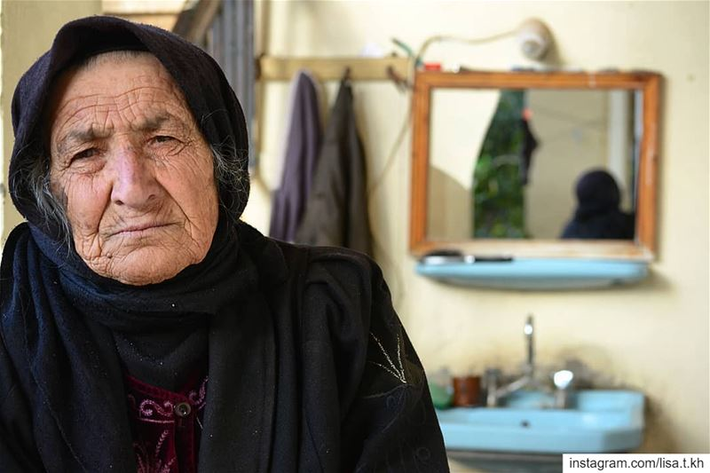 I Had the privilege to meet and listen this old lady talking about her... (Aïtaroun, Al Janub, Lebanon)